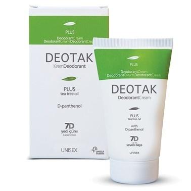 Deotak DEOTAK Krem Deodorant Plus 35ml Renksiz